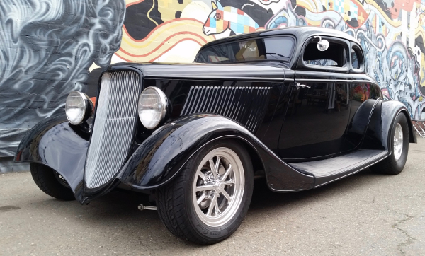 34 ford, ford five window, ford coupe