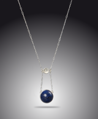 Gaia and Full Moon Necklace