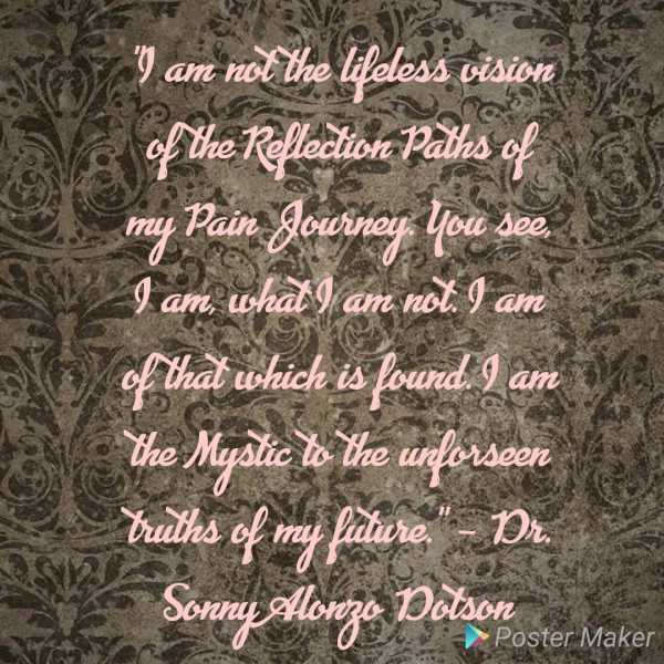 Quote - Dr. Sonny Alonzo Dotson