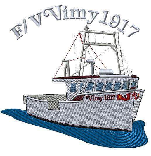 Final Embroidery of the FV Vimy 1917