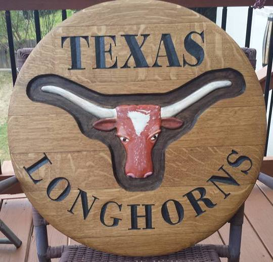 Four Points Austin Texas Handyman wine barrel woodwork