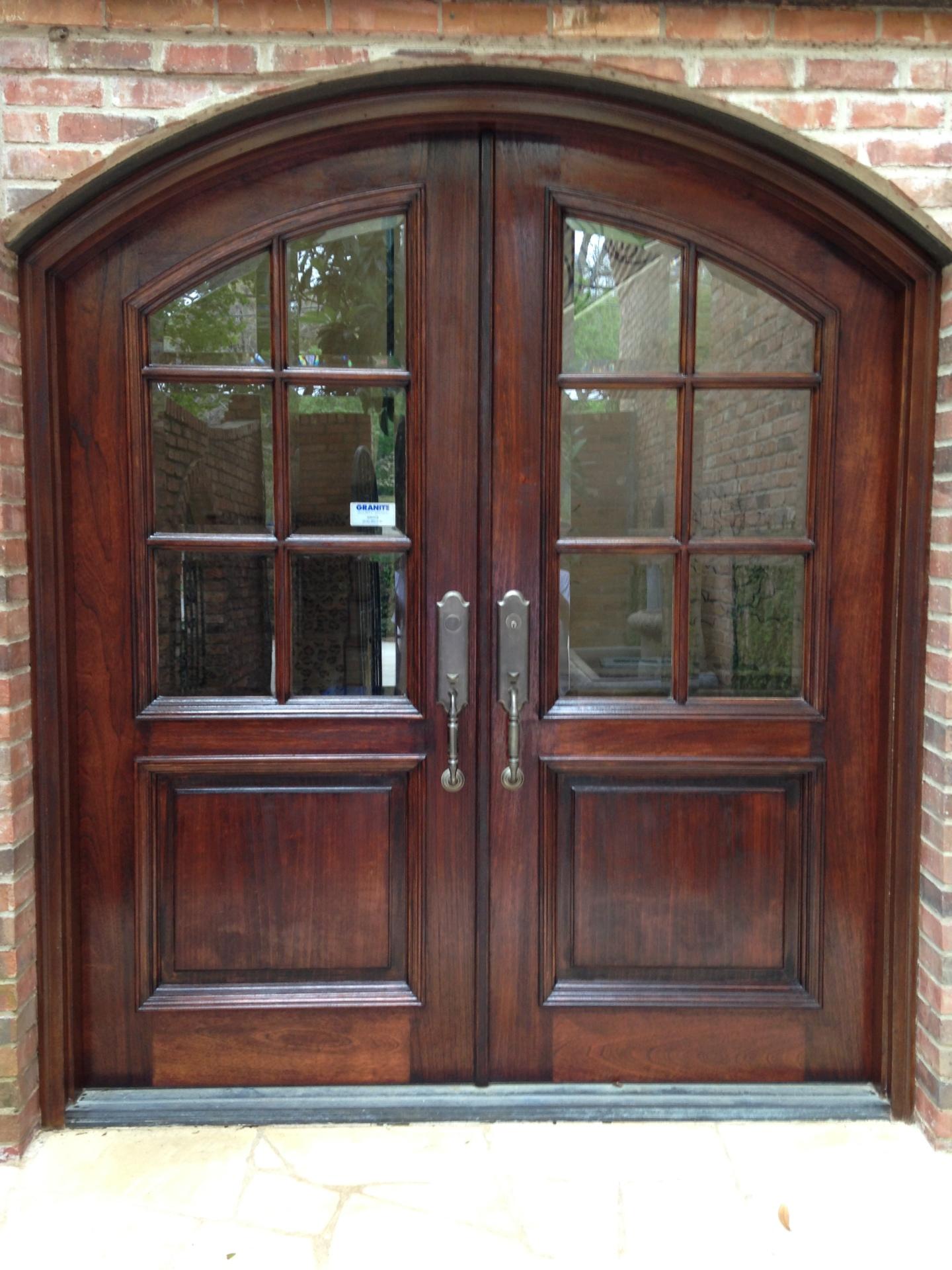 Front Door Refinish