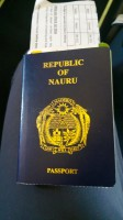 Nauru passport