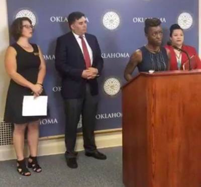 ACLU of Oklahoma Announces Effort to Free Domestic Violence Survivor Imprisoned for Failing to Stop