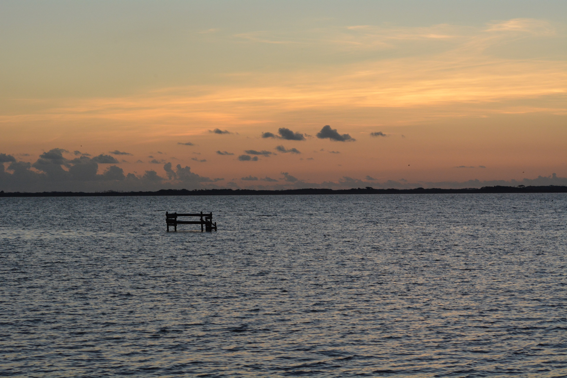 Sunset St. Charles Bay Rockport Texas