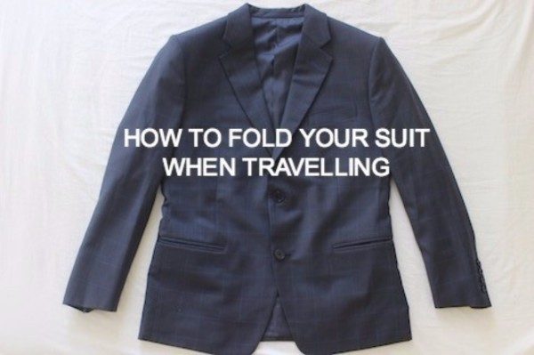 EASY WAY TO PACK YOUR SUIT