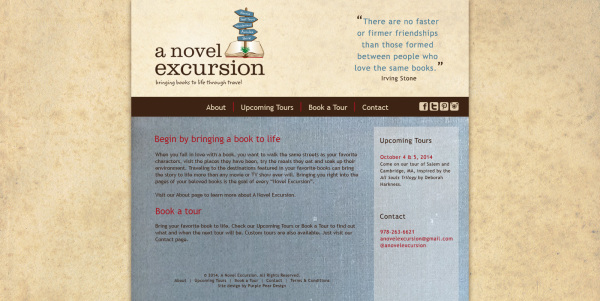 a novel excursion