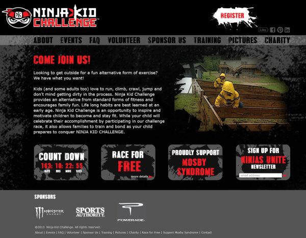 Ninja Kid Challenge