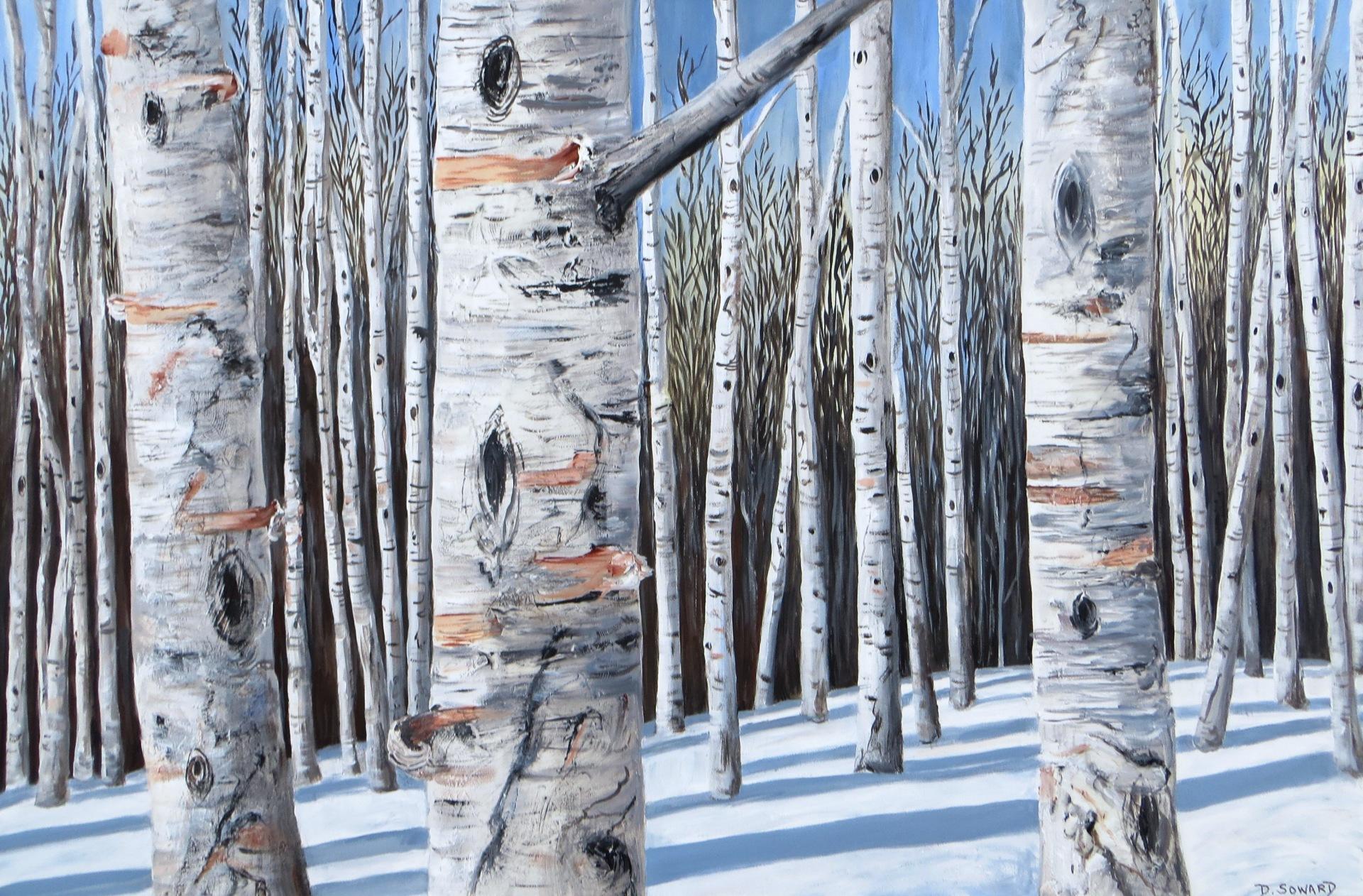 Birch Forest (24 x 36)
