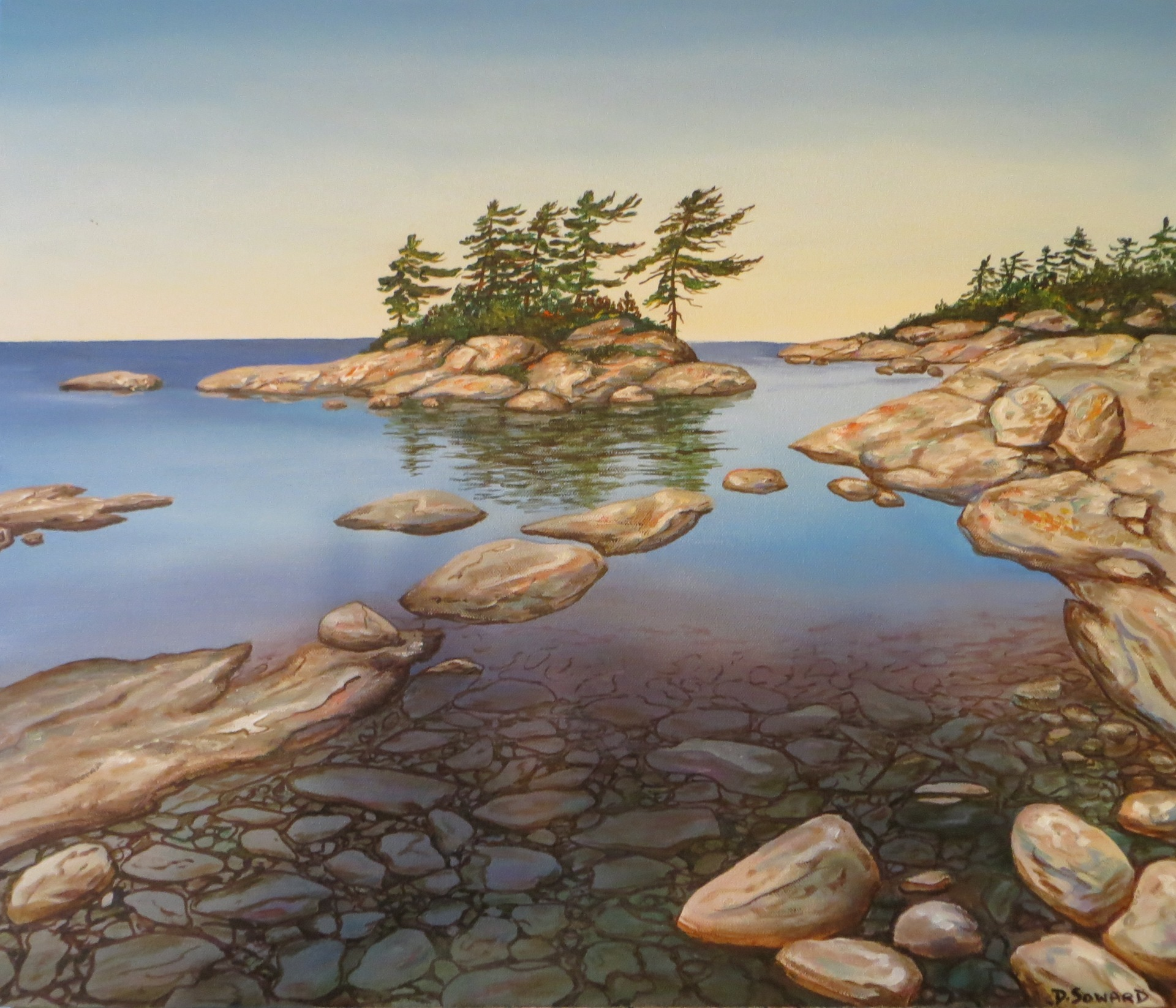 Georgian Bay (20 x 24)