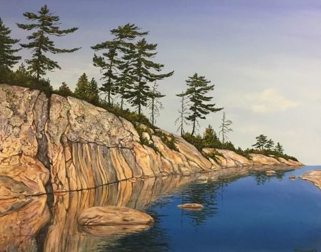 Georgian Bay (24 x 30)