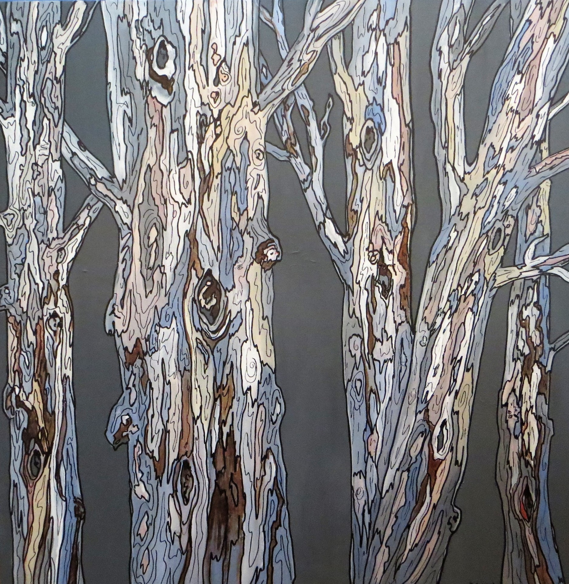 Abstract Trees (36 x 36)