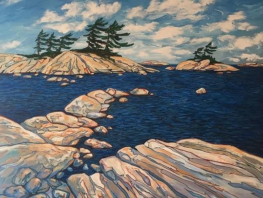 Georgian Bay Impression (30 x 36)
