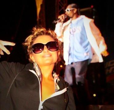 Alli and Snoop Dogg