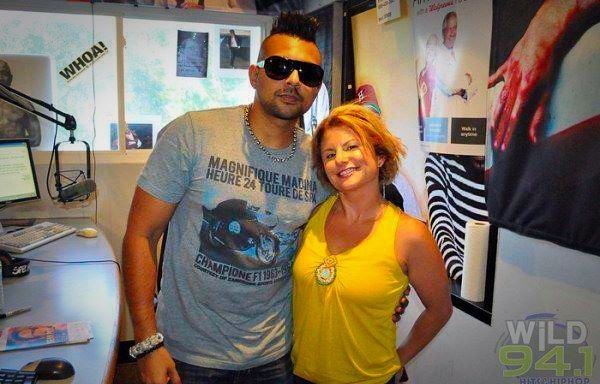 Alli and Sean Paul