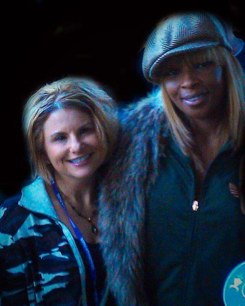 Alli and Mary J. Blige
