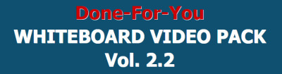 DFY Whiteboard Video Pack 2.0 review and Exclusive $26,400 Bonus AMAZING!