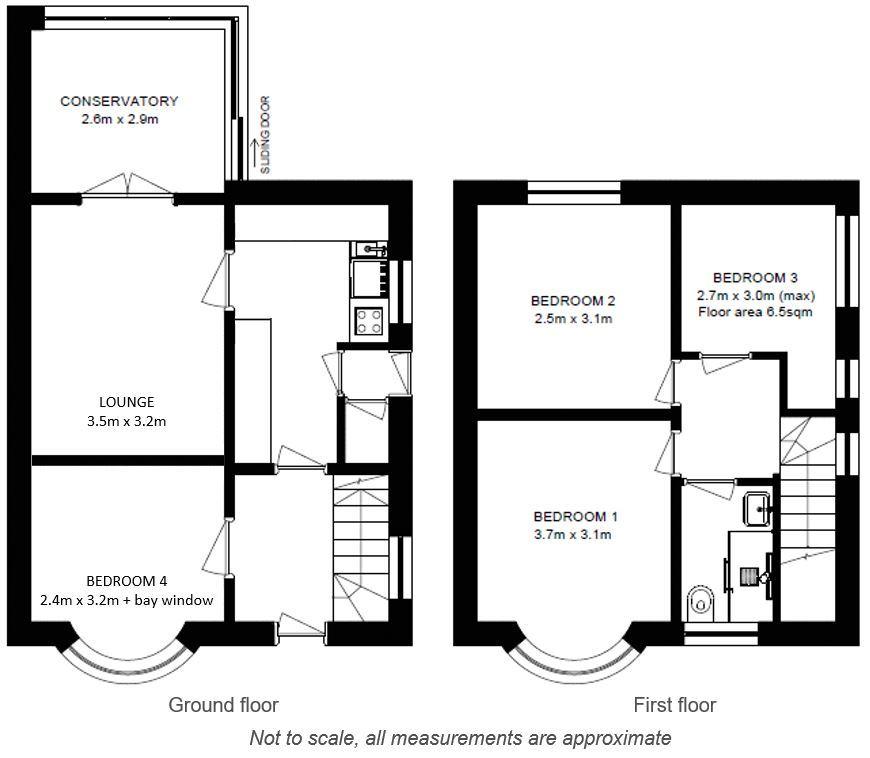 York Student House | 4 Bedrooms | Tranby Avenue | Floor plan