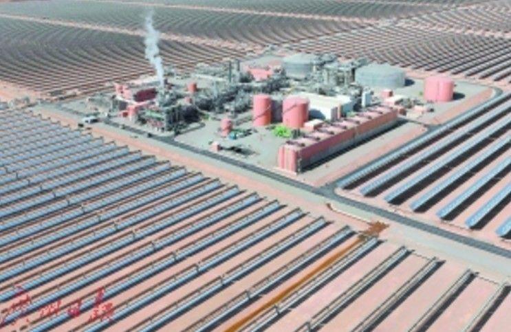 摩洛哥興建 全球最大太陽能電站