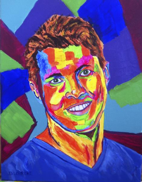 Portrait of Johnny Ruffo