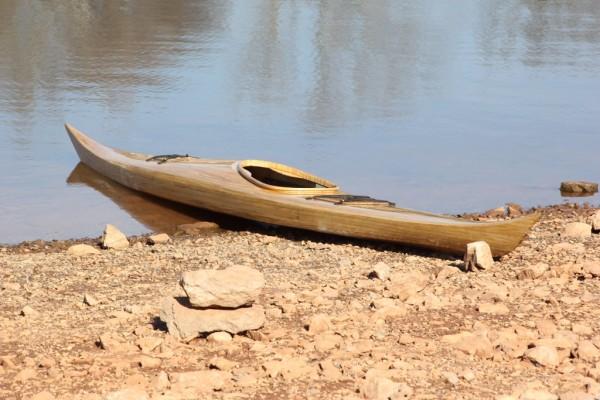 Paulownia Kayak
