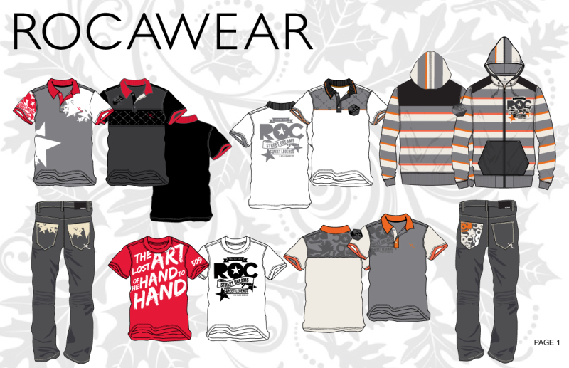 Fashion / Graphic Design  - Rocawear