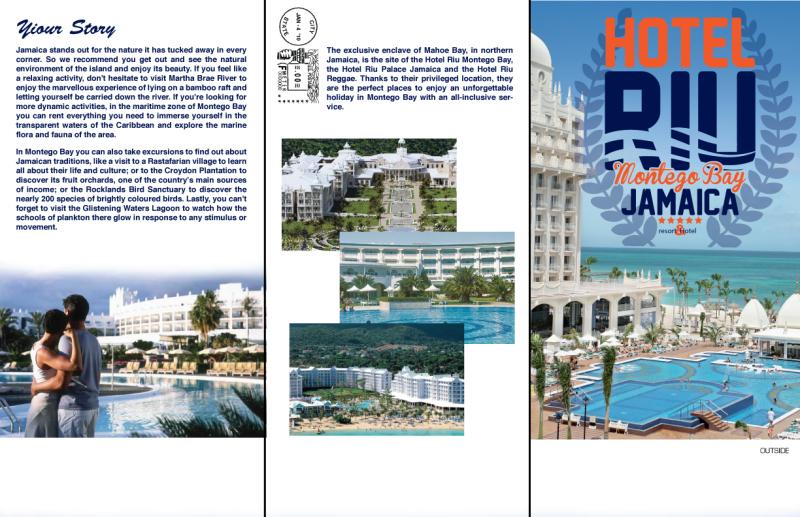 VACATION BROCHURE / RIU HOTEL