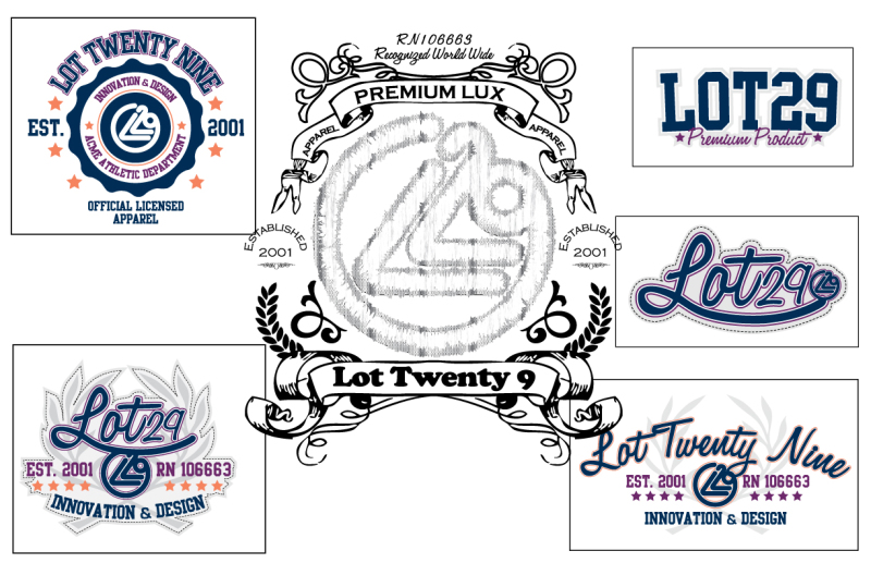 LOGO'S, PATCHES