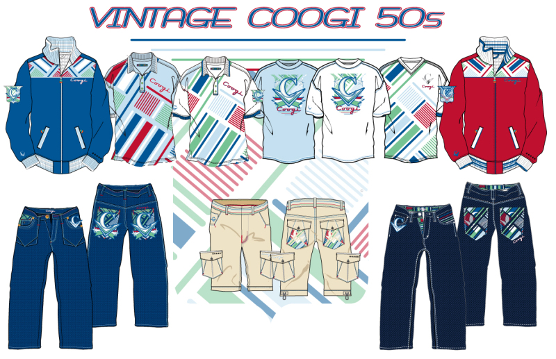 Fashion / Graphic Design  - Coogi