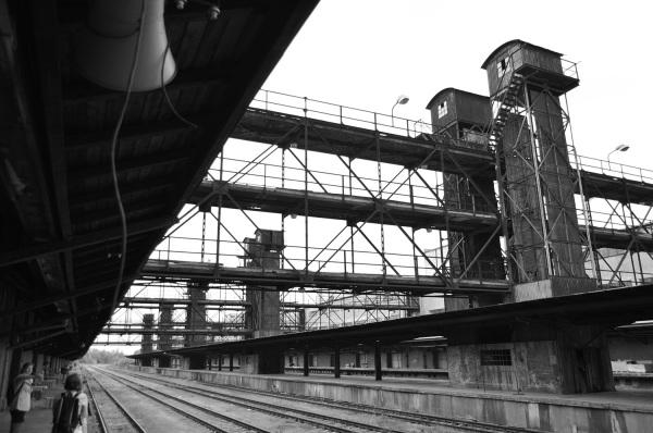 fotografie Nákladového nádraží Žižkov