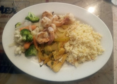 Fish Filet And Shripms