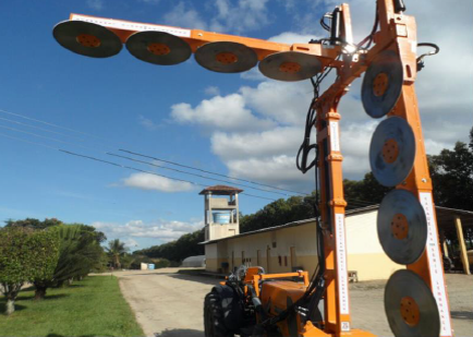 Mechanized plantation maintenance