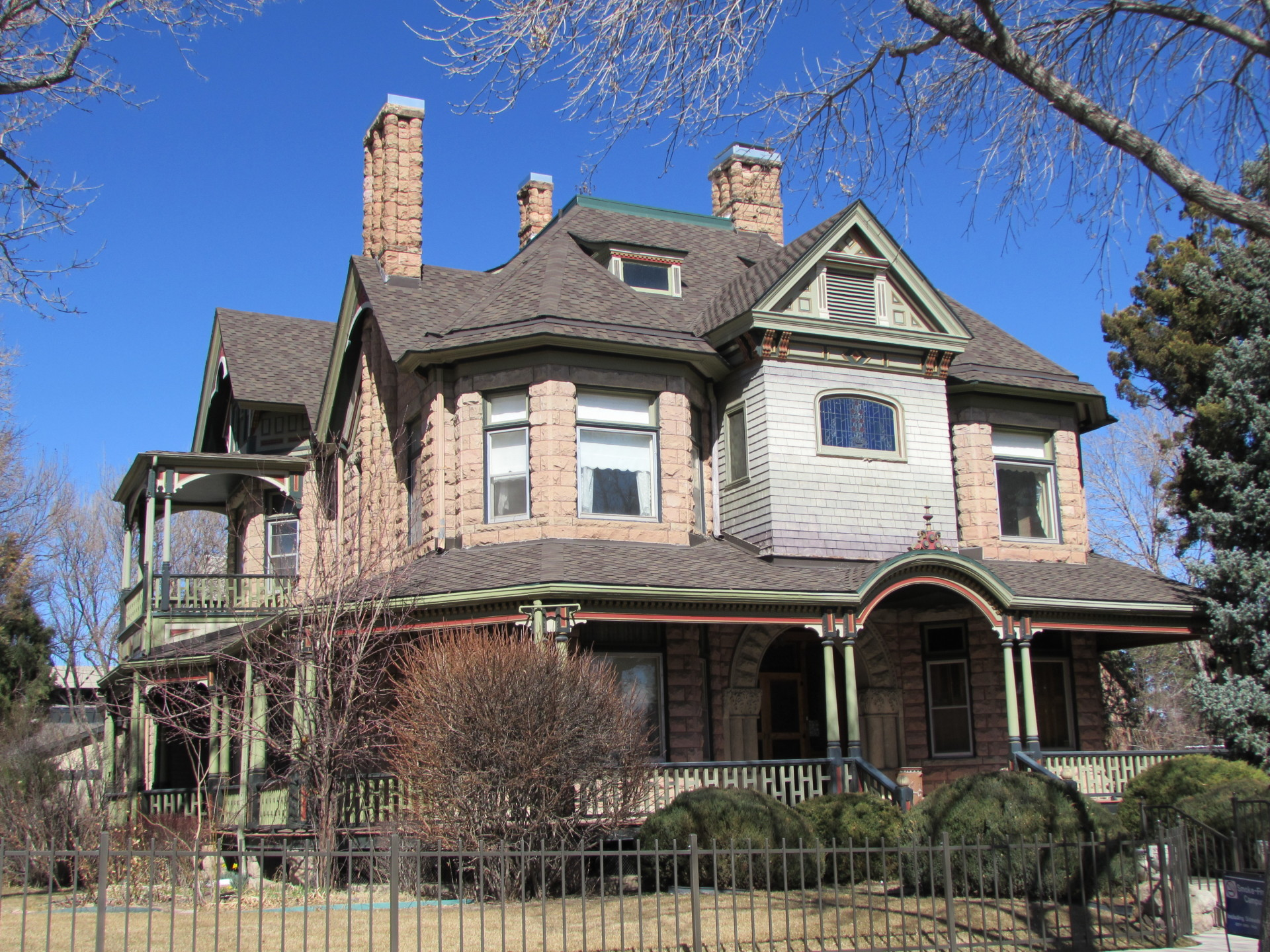 Prime Historic Homes Of Pueblo Part One Beutiful Home Inspiration Truamahrainfo