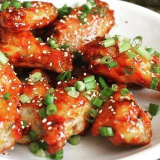Korean Spice Chicken Wings