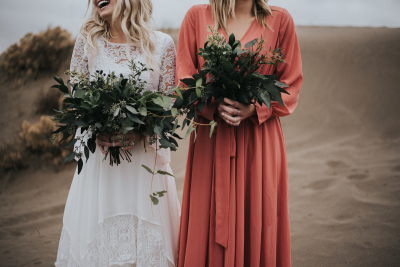 A Bride and her Bridesmaid