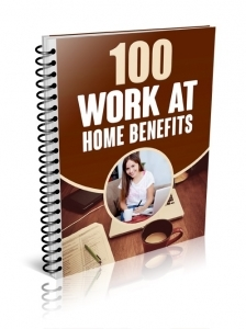 Benefits of Work at Home