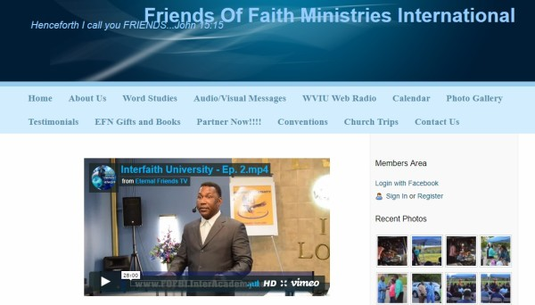 Friends of Faith Ministries International