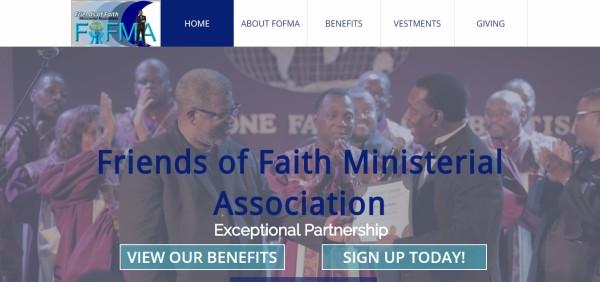 Friends of Faith Ministerial Association