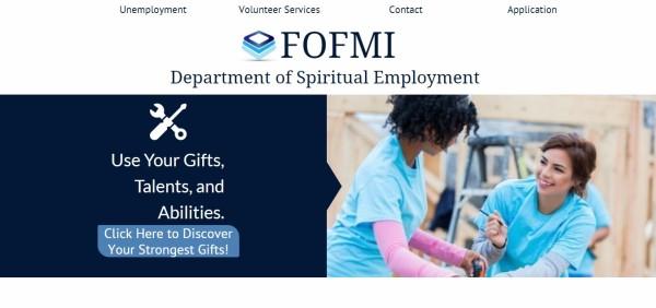 FOFMI Dept. of Spiritual Employment