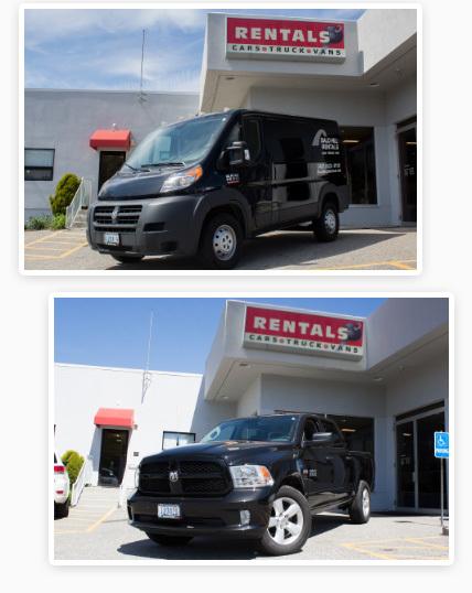 Van Rental Ri >> Truck Rentals