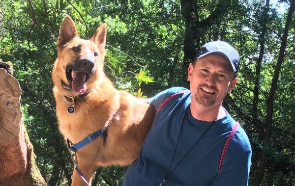 dog hikes, dog training, certified dog trainer