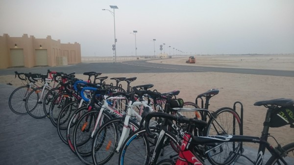 cycle track al wathba training cycling bicycles