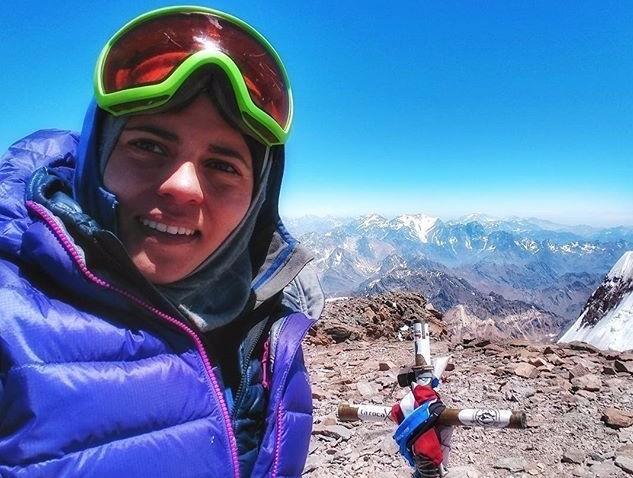 Hanady Alhashmi emirati woman summited aconcagua seven summits