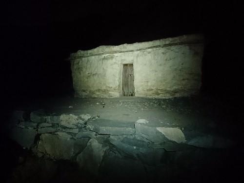 old village settlement in ras al khaimah found through hiking in wadi