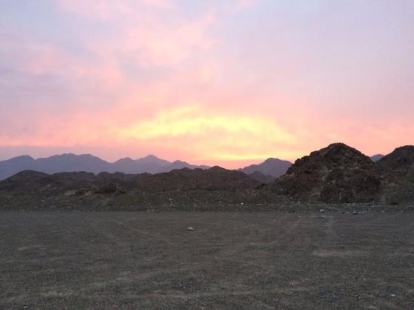 wadi mudaynah in showka ras al khaimah hike