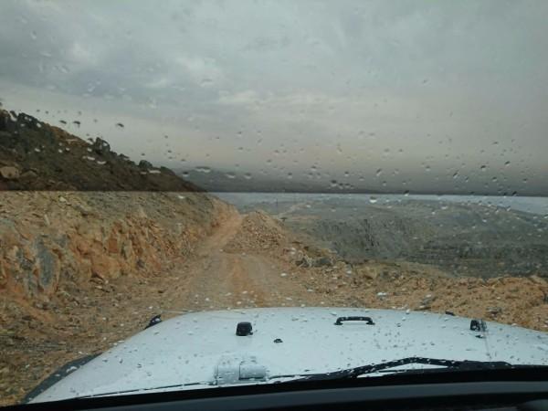 mountain drive offroad car in rak uae