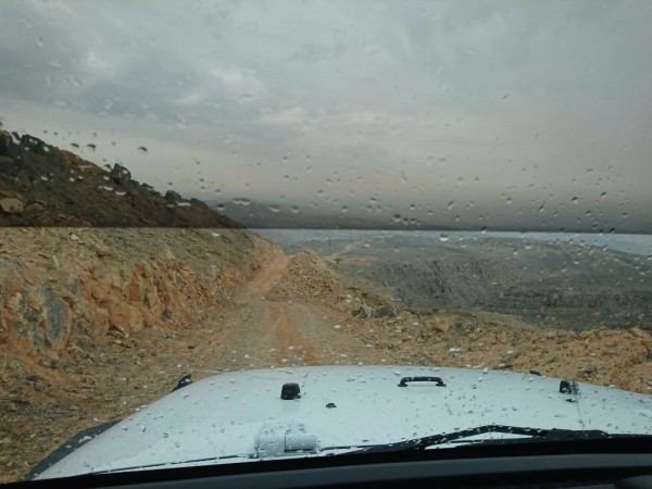 mountain drive offroad car in rak uae
