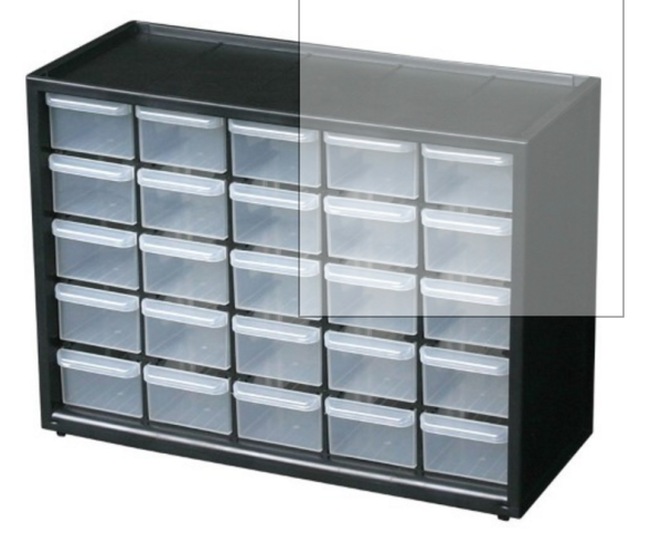 Drawer Organizer (not included)