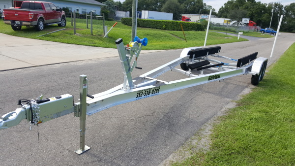 Single Axle Custom Aluminum Boat Trailer - Aluminum Boat Trailers