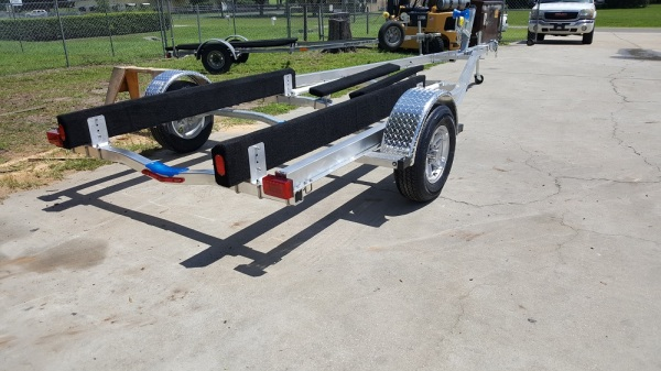 National Trailer - Custom Aluminum Boat Trailer Single Axle - Aluminum Boat Trailers